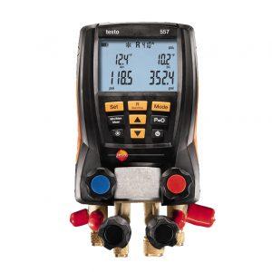 BRL100 testo 557 manometer manifold